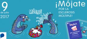 """""""Múlla't por la Esclerosis Múlitple"""" evento día 9 de julio de 2017 en las piscinas municipales de Cataluña"""