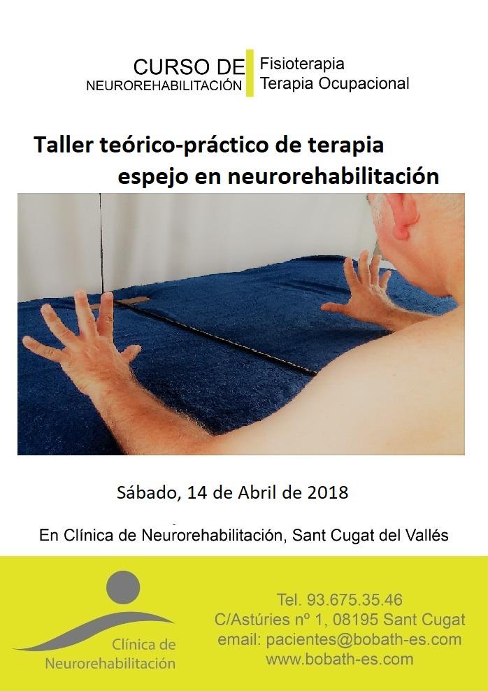 Taller de terapia espejo para fisioterapeutas y terapeutas ocupacionales